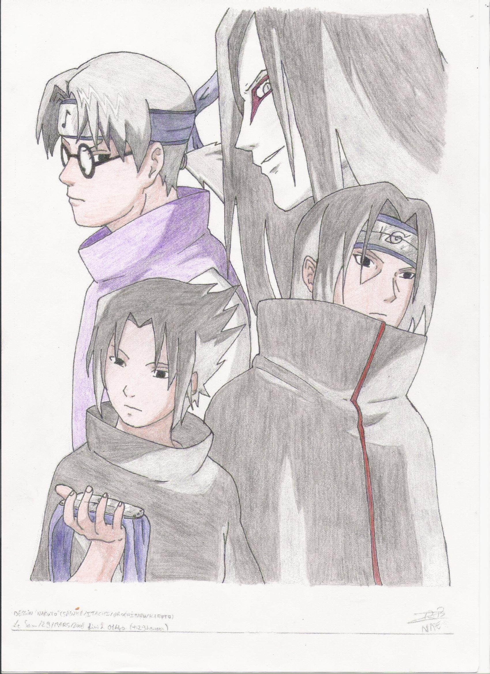 Supafan union gallery style 545 - Naruto dessin couleur ...