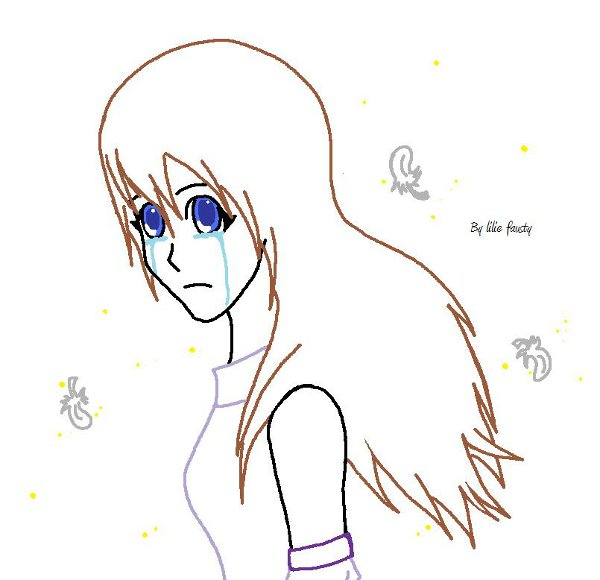 Personnage Dessin Simple Fille