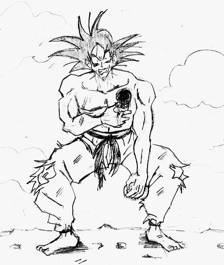 Sangoku Dessin Dragon Ball Z Facile