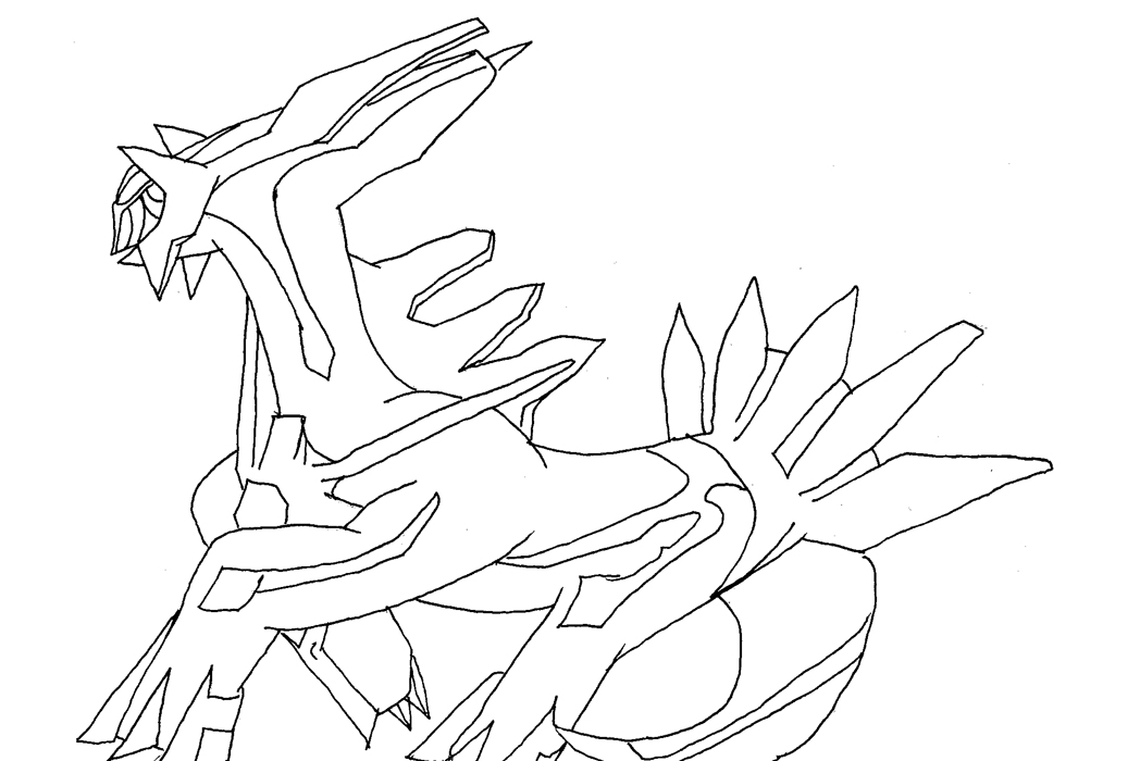 ... Coloring Pages Dialga   Photo#20 ...