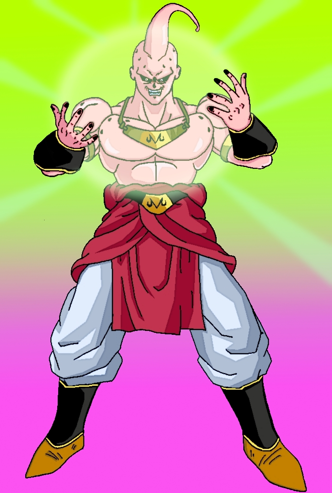 Top broly buu images for pinterest tattoos - Coloriage broly ...