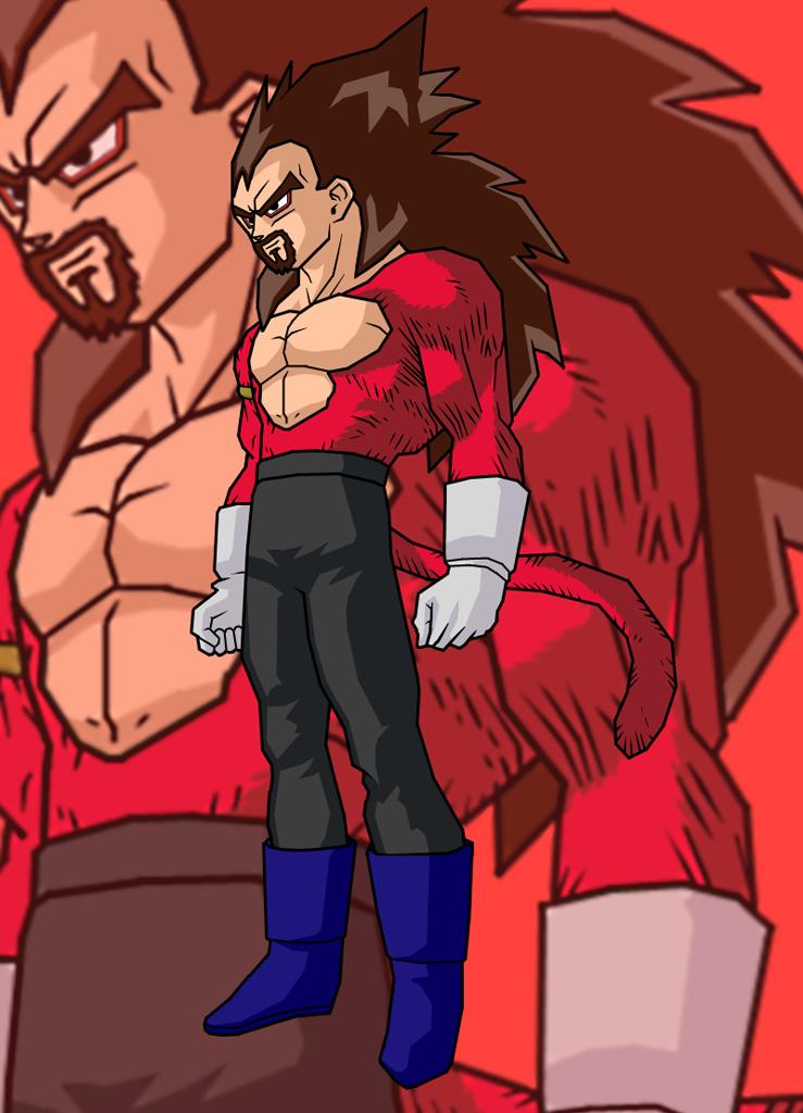 Bardock And Turles Fusion King Vegeta And Bardock Fusion